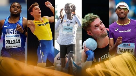 Ясни са петимата финалисти за Атлет №1 в света за 2018 година