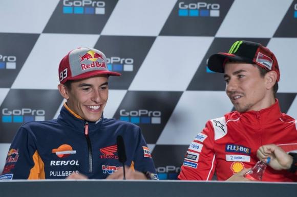 Нито Лоренсо, нито Маркес са на 100% за MotoGP теста във Валенсия