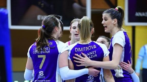 """Гергана Димитрова, Мира Тодорова и Волеро са близо до класиране за 1/8-финалите в """"Чалъндж къп"""""""