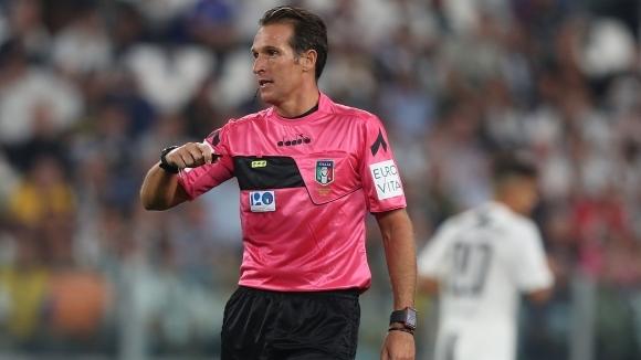 Определиха Лука Банти за рефер на дербито между Лацио и Милан