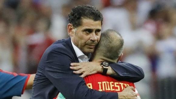 Иниеста бил ядосан на селекционера на Испания от Мондиала
