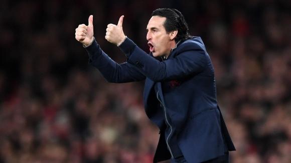 Унай Емери: Място в топ 4 е главната цел пред Арсенал