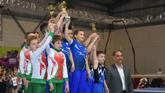 Йордан Йовчев откри турнира по спортна гимнастика в Благоевград