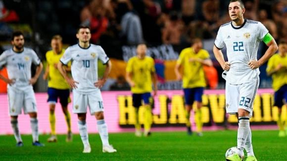 """Швеция не остави шансове на Русия, """"сборная"""" остава в Лига """"В"""""""