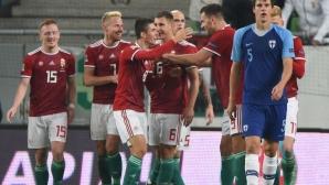Финландия го удари на разходка в Будапеща