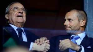"""Реал Мадрид заплашвал УЕФА с проекта """"Суперлига"""""""