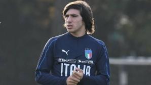 """Талант от Серия """"Б"""" може да стане първият италиански национал, който е роден през 21-и век"""