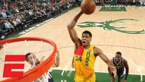 Милуоки победи Денвър в един от най-интересните мачове в НБА