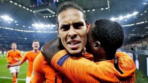 Гениално тактическо решение на Куман превърна Ван Дайк в герой за Холандия