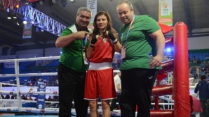 Стойка Петрова си осигури медал от Световното