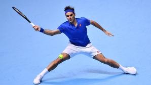 Най-доброто от Федерер през 2018 година (видео)