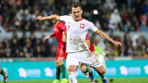Португалия завърши без загуба, а Полша постигна утешителен резултат в края на тежката година (видео)
