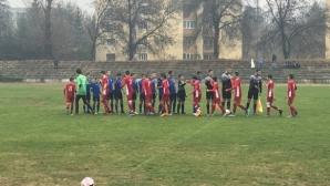 ЦСКА-София разгроми Кюстендил, бесни фенове нахлуха на терена