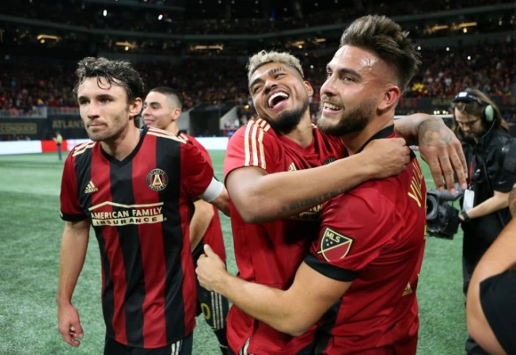Атланта Юнайтед отнесе Ред Булс във финала на Изток, нулево равенство на Запад