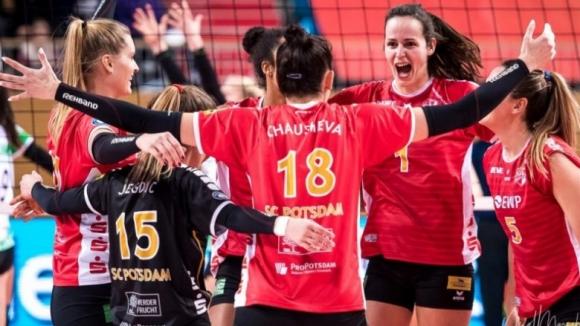Силвана Чаушева и Потсдам на полуфинали за Купата на Германия