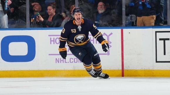 Бъфало Сейбърс записа 10-а поредна победа в НХЛ и изравни рекорд
