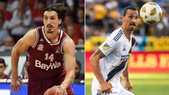 Той играе в Байерн (Мюнхен) и е двойник на Ибрахимович