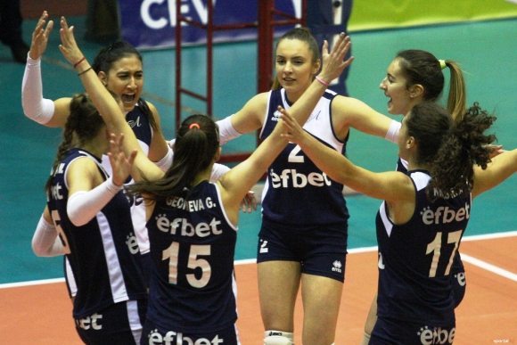 Волейболистките на Левски без шансове за Купата на CEV (галерия)
