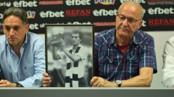 Мемориалът на Аян Садъков ще бъде открит в деня на Дербито