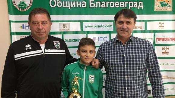 Венко Попов остава управител на ОФК Пирин