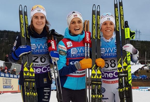 Терезе Йохауг постигна втора победа за сезона в Световната купа по ски-бягане