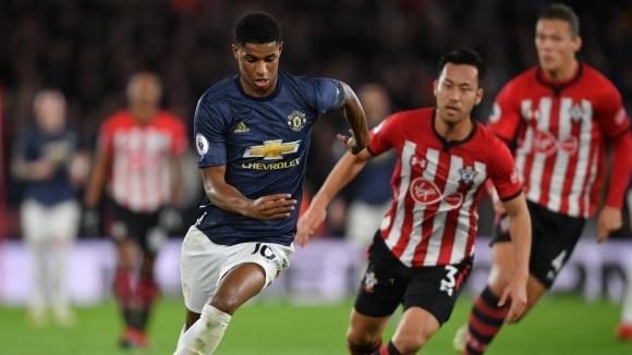 Ман Юнайтед с нов провал, Саутхамптън повярва, но отново не победи като домакин