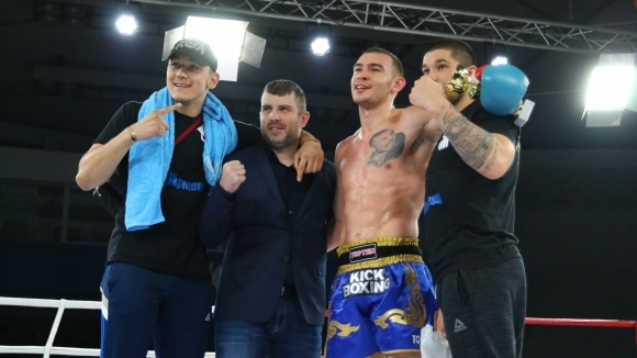 Корунчев завърши 2018 с нова победа на Grand Fight Arena в София