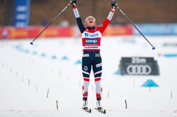 Терезе Йохауг с нова победа в Лилехамер (видео + снимки)