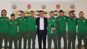 Борислав Михайлов награди световните вицешампиони по Футбол 5