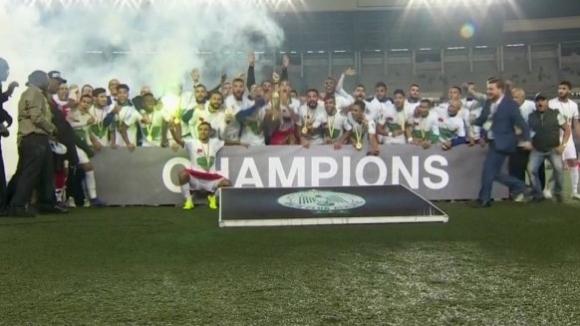 Раджа Казабланка спечели купата на Конфедерациите на Африка