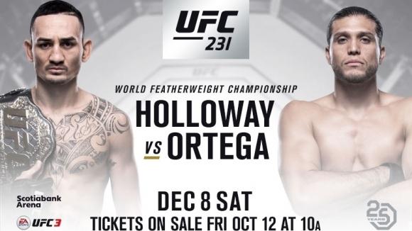 Обратно броене до UFC 231 (видео)