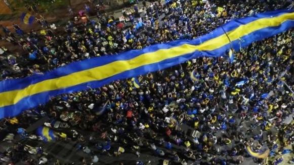 Хиляди надъхаха Бока преди заминаването за Мадрид