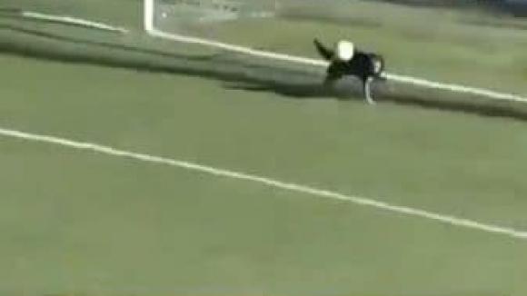 Куче спаси сигурен гол в Аржентина (видео)