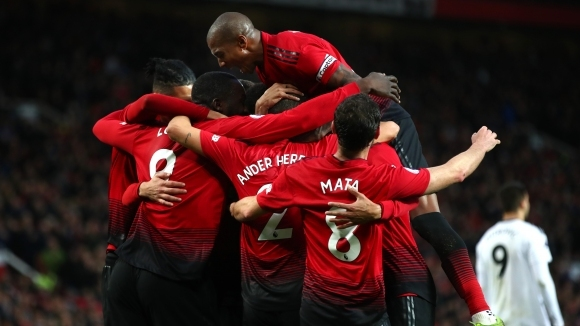 """Манчестър Юнайтед върна доброто настроение на """"Олд Трафорд"""" (видео)"""