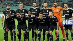 Славчев игра при успех с 5:1 на Карабах