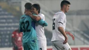 Славия се добра до точката срещу Дунав с гол в последните секунди (видео)