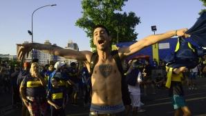 400-500 аржентински хулигани очакват в Мадрид