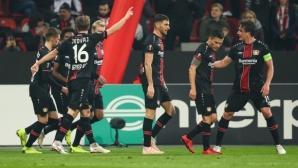 Една победа, която не промени нищо в класирането за Леверкузен и Аугсбург (видео)