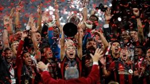 Атланта на Тата Мартино с историческа титла пред рекордна посещаемост в МЛС