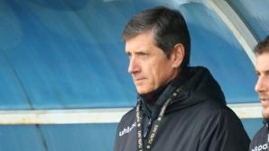 Треньорът на Верея: ЦСКА ни вкара с едно положение до почивката