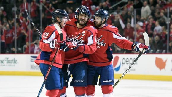 Овечкин с хеттрик при успех на Вашингтон в НХЛ
