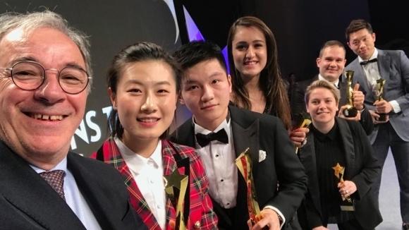 Шампиони от Панагюрище обраха световните награди в тениса на маса