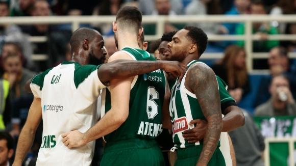 Панатинайкос прекъсна серията си от три поредни загуби в Евролигата