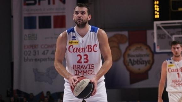Павел Маринов с 11 точки при загуба на Каен, Алекс Симеонов с