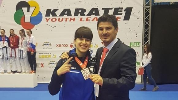 Българско злато на Световната младежка карате лига във Венеция