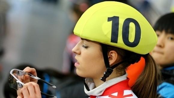 Димитър Георгиев и Катрин Маноилова спечелиха титлите на 1000 метра от държавното по шорттрек