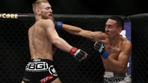 Конър Макгрегър похвали Макс Холоуей за невероятното му представяне в UFC 231