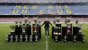 Иниеста: Меси е най-добрият, не чувствам носталгия по Барселона