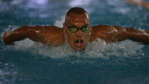 Национален рекорд не стигна на Антъни Иванов за полуфинал на 100 метра бътерфлай