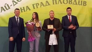 Александра Начева е №1 сред младите спортисти в Пловдив